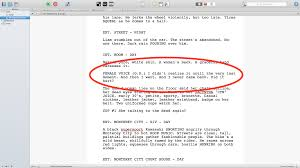 Final Draft import txt file as script result - Convert plain text to script format in Scrivener