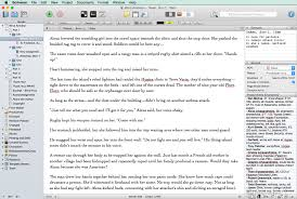 Back to Scrivener interface - Distraction-free Writing in Scrivener
