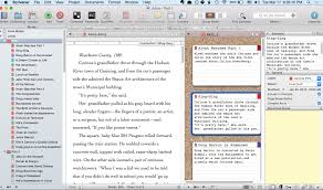 View menu bar at the top - Distraction-free Writing in Scrivener