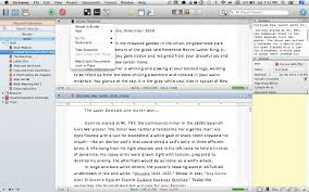 Split Editor into two windows - Introduction to Scrivener
