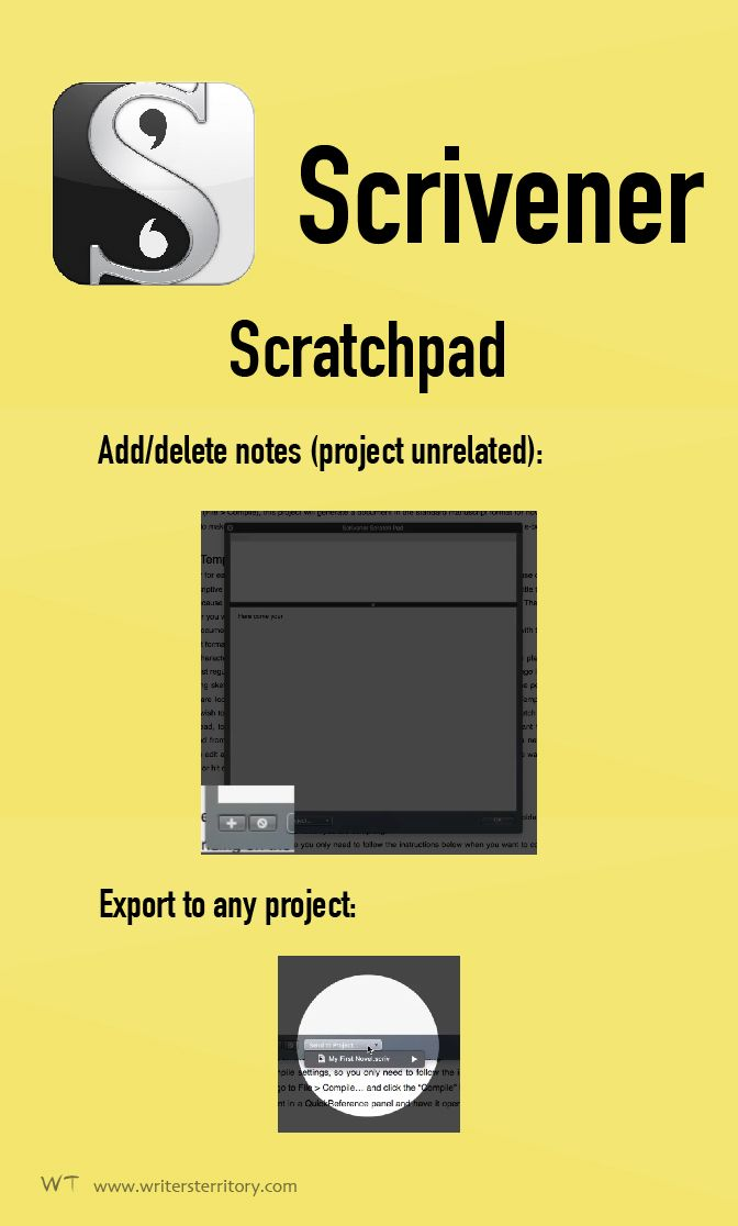Scrivener Scratchpad - Scrivener's Scratchpad: ONE Advantage for Note-Taking