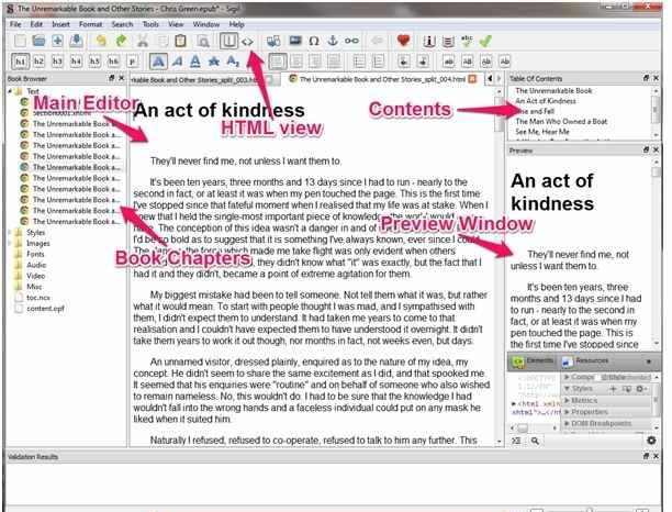 Metadata Editor - 3 FREE Writing Apps: Sigil, celtx, Weekend Read