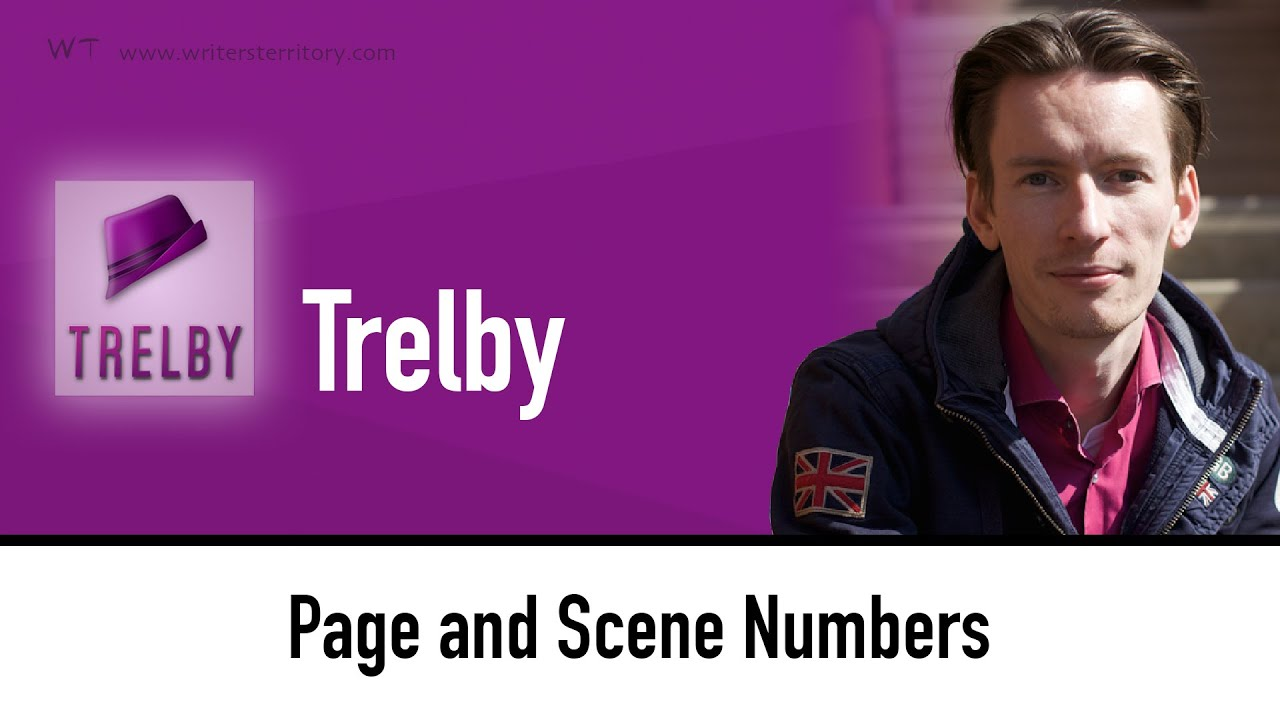 Trelby displays Page Numbers - Page and Scene Numbers in Trelby