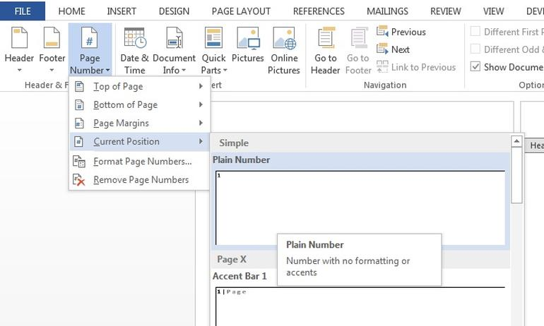 Change Header and Footer Settings - How to Customize Document Layout in Fade In