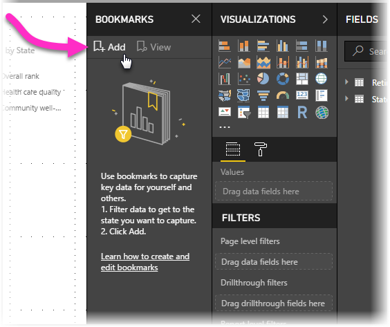 Title Page with bookmarks - How to configure Fade In Title Page Bookmarks