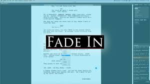Add word to current document dictionary - Fade In Dictionaries and Languages